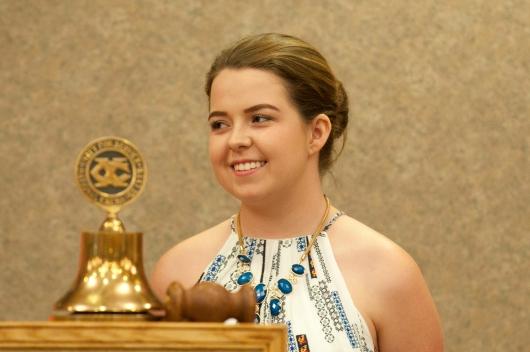 Kaitlyn Lewis ACE award