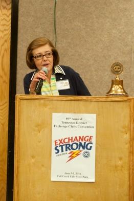 Treasurer Sharon Howard