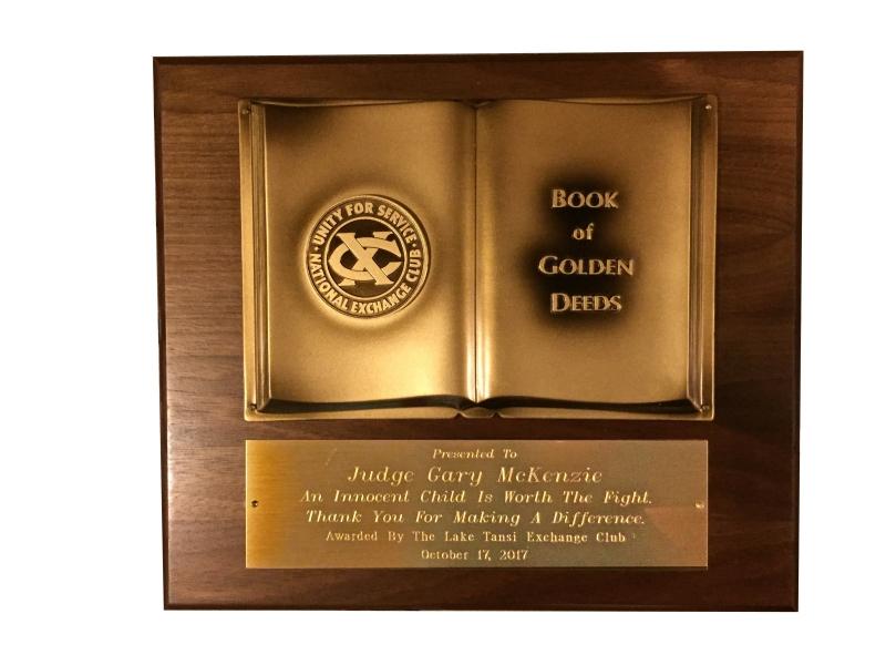 McKenzie plaque